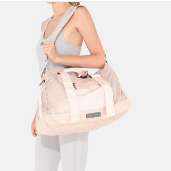 NWT Adidas x Stella McCartney Pink Yoga Bag. M 5c257af1c89e1d9f63b51967 59712212053c2